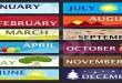 english months