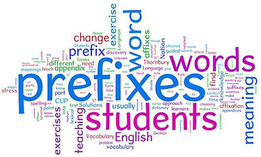 prefixes in English